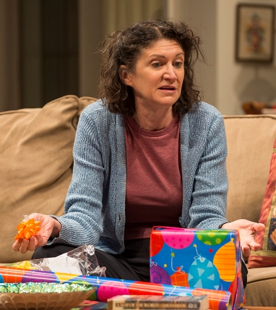 Carol (Molly Regan) is determined to make this a special birthday for her afflicted son. (Michael Brosilow)