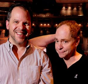 Director Aaron Posner (left) and magician Teller will conjure Shakespeare's 'The Tempest.'