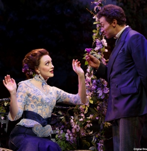 Love (as well as murder) is part of the touring 'Gentleman's Guide.' (Courtesy of Broadway in Chicago)