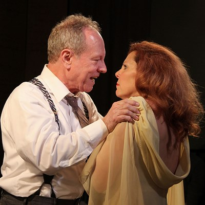 George (Brian Parry) tells Martha (Jacqueline Grandt) there are limits. (Jan Ellen Graves)