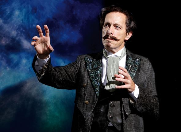 Larry Yando plays Prospero in Chicago Shakespeare's production of 'The Tempest.'