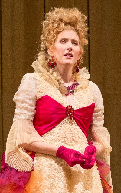 The Countess (Amanda Majeski) reflects on the love she and the Count once shared. (Todd Rosenberg)