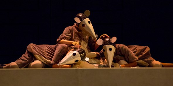 A rare moment in the opera when not a rat is stirring. (Todd Rosenberg)