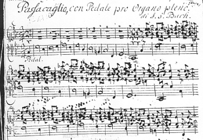 Bach's mighty passacaglia and fugue has been arranged for other instruments and instrumental combinations by numerous composers over the centuries.