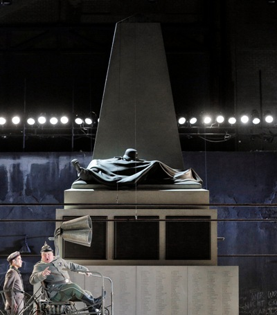 """David McVickar's """"Wozzeck"""" is designed by Vicki Mortimer with lighting by Paule Constable."""