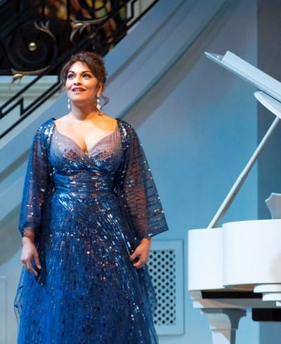 Danielle de Niese plays Roxane Coss in 'Bel Canto.' (Todd Rosenberg)