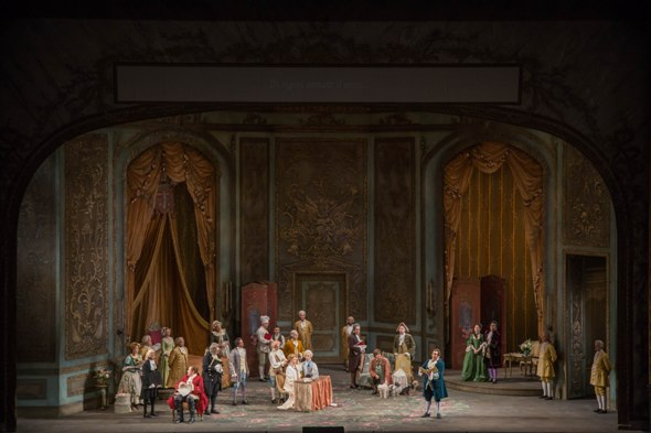 'Der Rosenkavalier,' Act 1, Lyric Opera Chicago. (Andrew Cioffi)