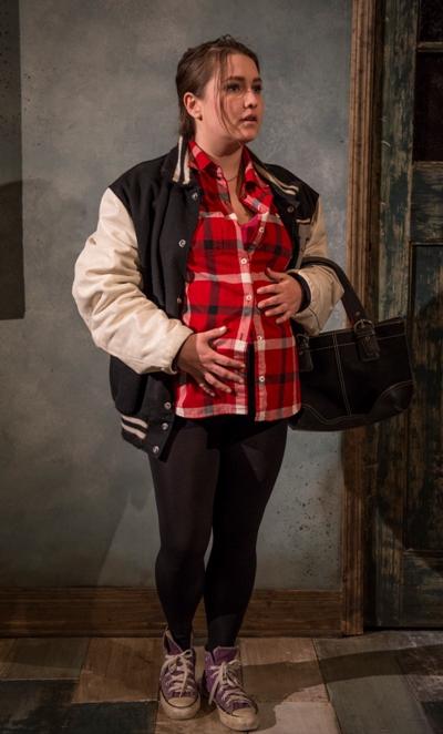 Tamara Chambers in 'Totally' by Neil LaBute at Profiles. (Michael Brosilow)