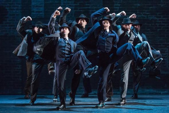The tap-dancing gangsters, says Jeffrey Brooks, will blow you away. (Matthew Murphy)