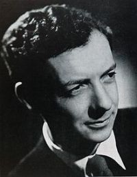 Benjamin Britten, composer of 'Sinfonia da Requiem'
