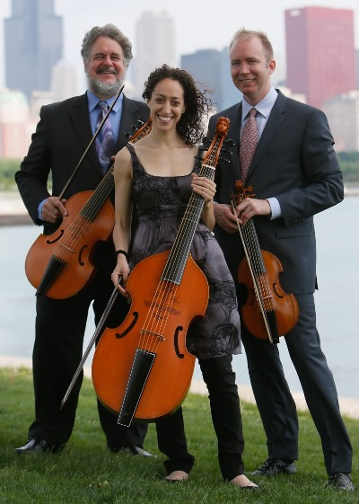 Members of Second City Musick, from left, Russell Wagner, Anna Steinhoff and Craig Trompeter.