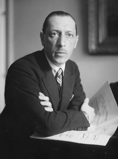 The celebrated Stravinsky and the youthful Dutoit found much in common to talk about, in French.