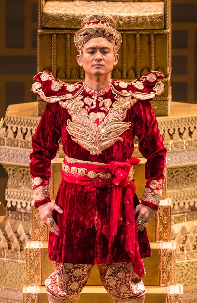 The King of Siam (Paolo Montalban) is torn between his traditions and Western ideas. (Todd Rosenberg)