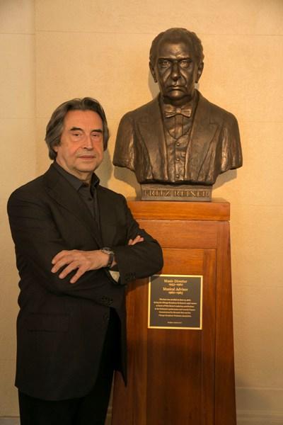 Riccardo Muti and Fritz Reiner, music directors of the CSO (Todd Rosenberg)