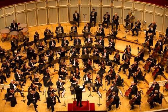 Music Director Riccardo Muti led the Chicago Symphony in Bruckner's Ninth Symphony. (Todd Rosenberg)