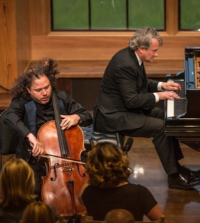 Cellist Matt Haimovitz and pianist Christopher O'Riley performed Russian sonatas. (Erik Peterson)