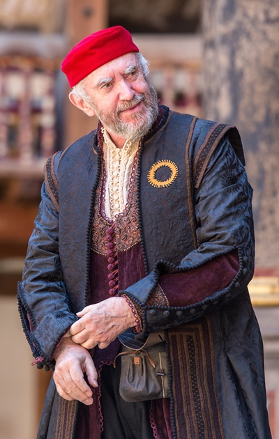 'If you prick us,' asks Shylock Jonathan Pryce), 'do we not bleed?' (Marc Brenner)