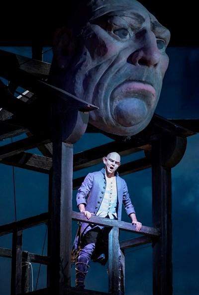 Wilhelm Schwinghammer is the vocal avatar for the gigantic Fasolt. (Todd Rosenberg)