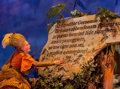 Haymarket Opera presents Haydn's L'isola disabitata at the Atheneum Theatre, dress rehearsal, Thursday, September 15, 2016.