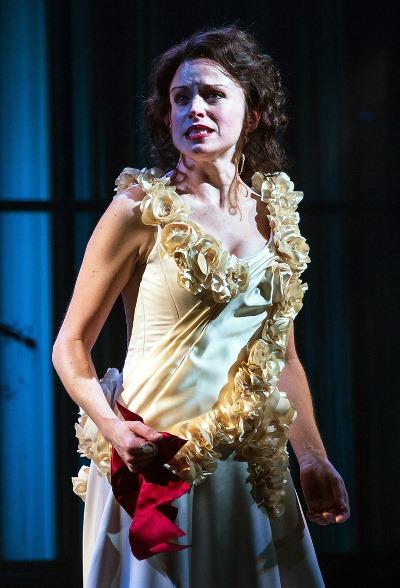 Elizabeth (Heidi Kettenring), queen to Edward IV, senses danger to her children. (Liz Lauren)