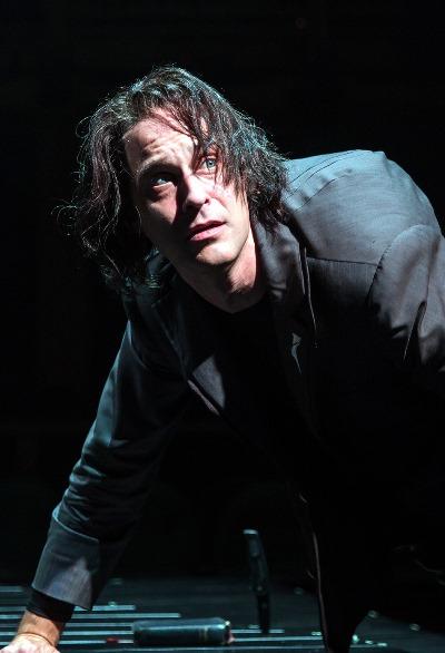 Misshapen Richard (Timothy Edward Kane) resolves to play the villain. (Liz Lauren)