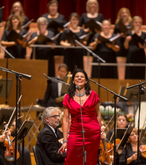 Mezzo-soprano Tanja Ariane Baumgartner will portray Fricka in the Lyric's 'Rheingold.' (Todd Rosenberg)