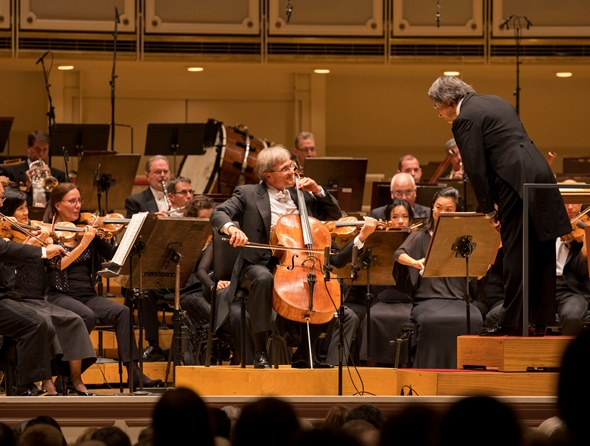 CSO principal cello John Sharp gave a radiant performance of the Schumann concerto. (Todd Rosenberg)