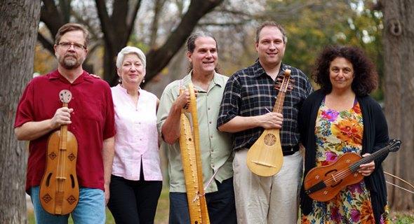 David Douglass and Ellen Hargis, far left, are co-artistic directors of the Newberry Consort.