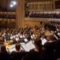 Riccardo Muti and Chicago SO and choruses (Todd Rosenberg)