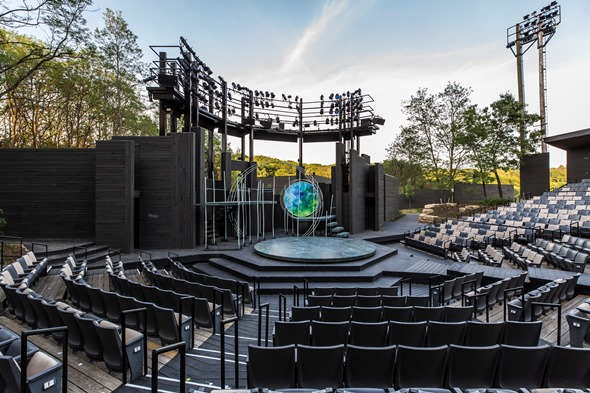 American Players Theatre begins a new era on its rebuilt open-air stage. (Courtesy APT)