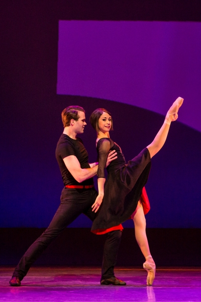 Meant for each other: Jerry (McGee Maddox) and Lise (Sara Esty) in 'An American in Paris'. (Matthew Murphy)