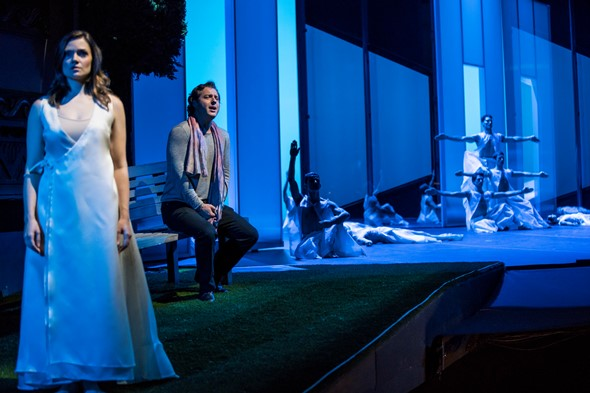 Dmitry Korchak and Andriana Chuchman star in 'Orphée et Eurydice' at the Lyric Opera of Chicago. (Todd Rosenberg)
