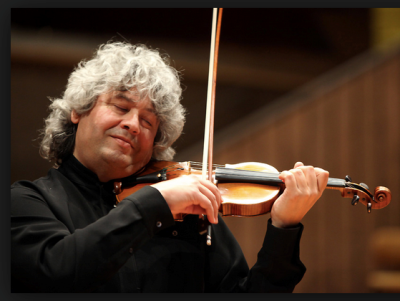Concertmaster Lorenz Nasturica-Herschcowici: ethereal playing in 'Ein Heldenleben.'