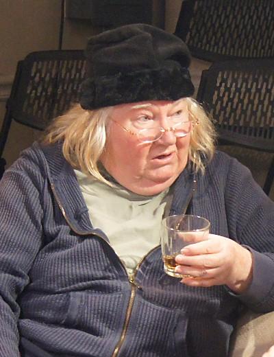Kathleen Ruhl as the brutally direct mom Daphne. (Jan Ellen Graves)