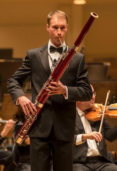 CSO principal bassoon Keith Buncke brought an operatic quality to Mozart. (Todd Rosenberg)