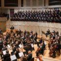 "Riccardo Muti and the Chicago Symphony Orchestra and Chorus undertake Rossini's ""Stabat Mater"" with soprano Krassimira Stoyanova, mezzo-soprano Ekaterina Gubanova, tenor Dmitry Korchak and bass-baritone Eric Owens. (© Todd Rosenberg)"