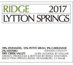 Lytton Springs 2017