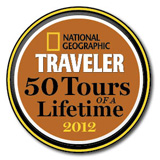 National Geographic award for Torres del Paine volunteer trip
