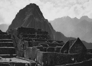 Machu Picchu in 1969