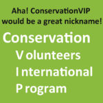 ConservationVIP is born