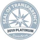 Read about us on GuideStar!