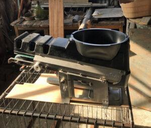 Conveyor system at Park workshop