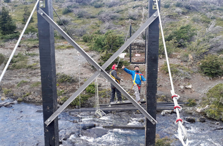 Rangers placing hangers & floor beams 21 March 2018