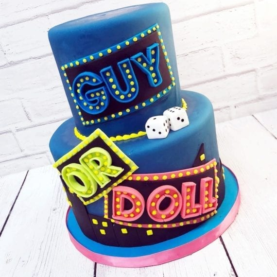 Broadway Marquee Cake