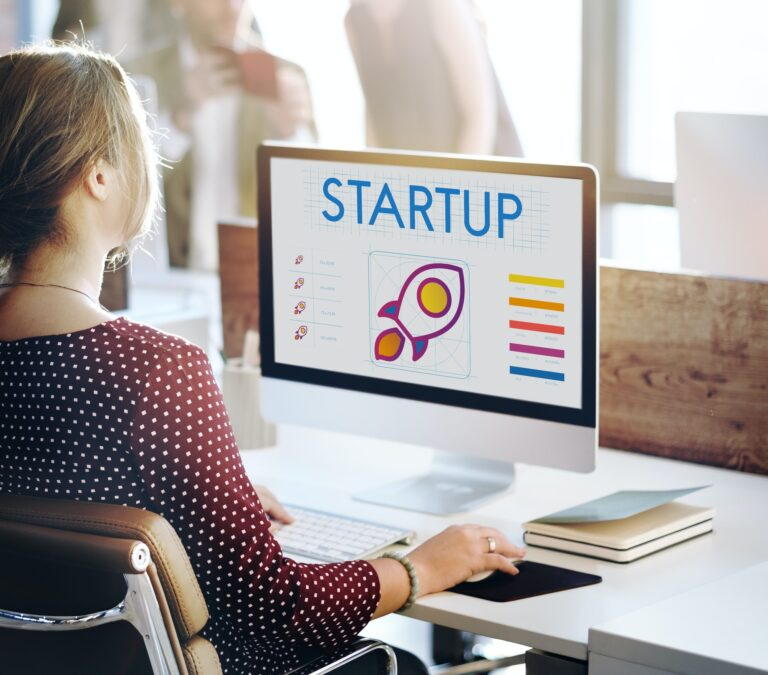 Startup Business Entrepreneurship Launch Concept