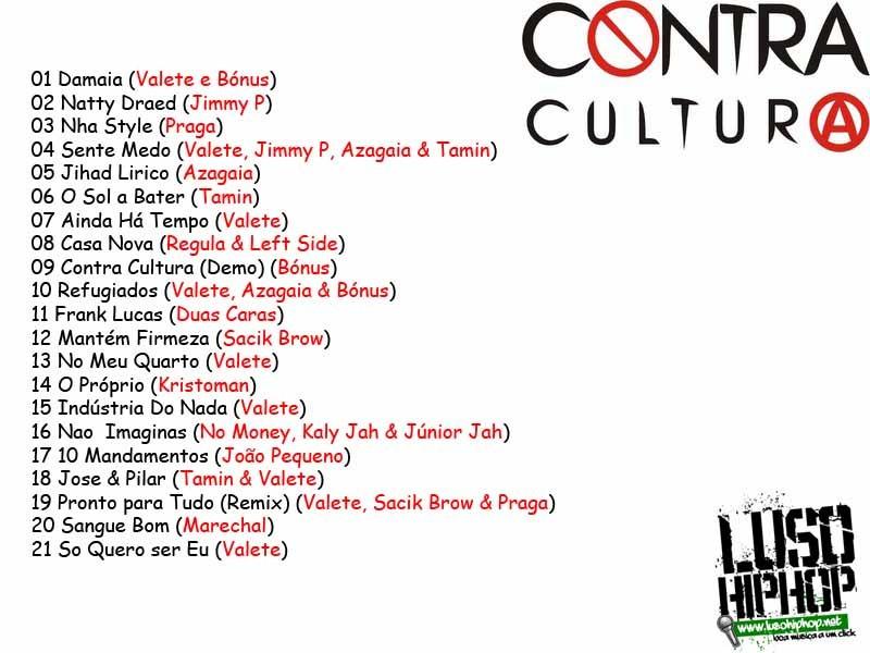 Mixtape Contra Cultura [Capa Back]