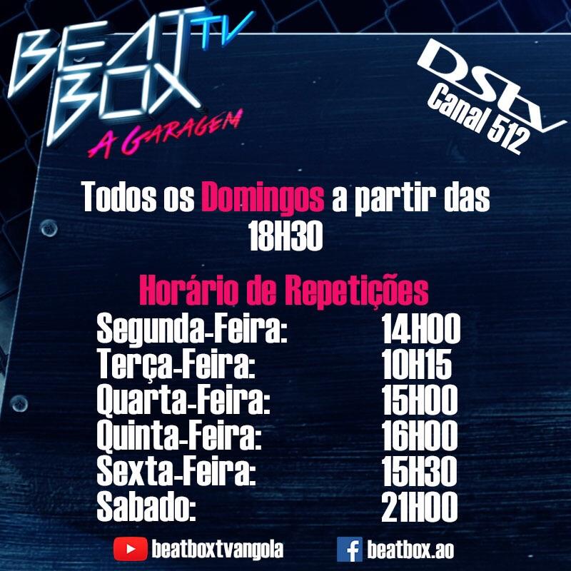 beatbox tv - horarios