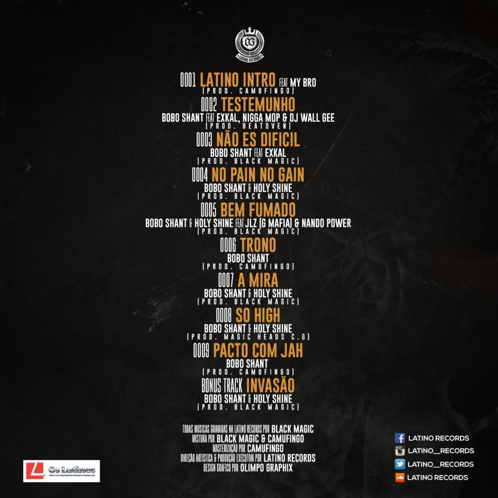 Latino Records - Alvorada EP ContraCapa