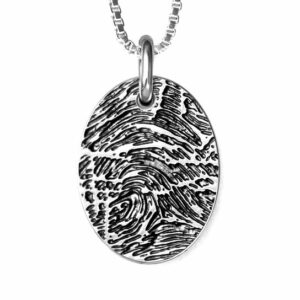 Custom Fingerprint NEcklace