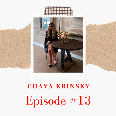 Chaya Krinsky of Tov Furniture